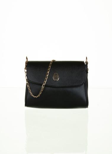 TH Bags TH Bags Zincirli Askılı Kadın Çanta Siyah